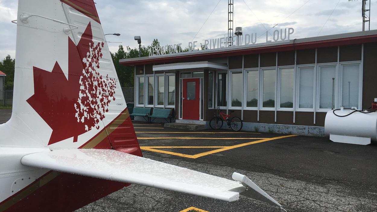 L'aéroport de Rivière-du-Loup (archives).