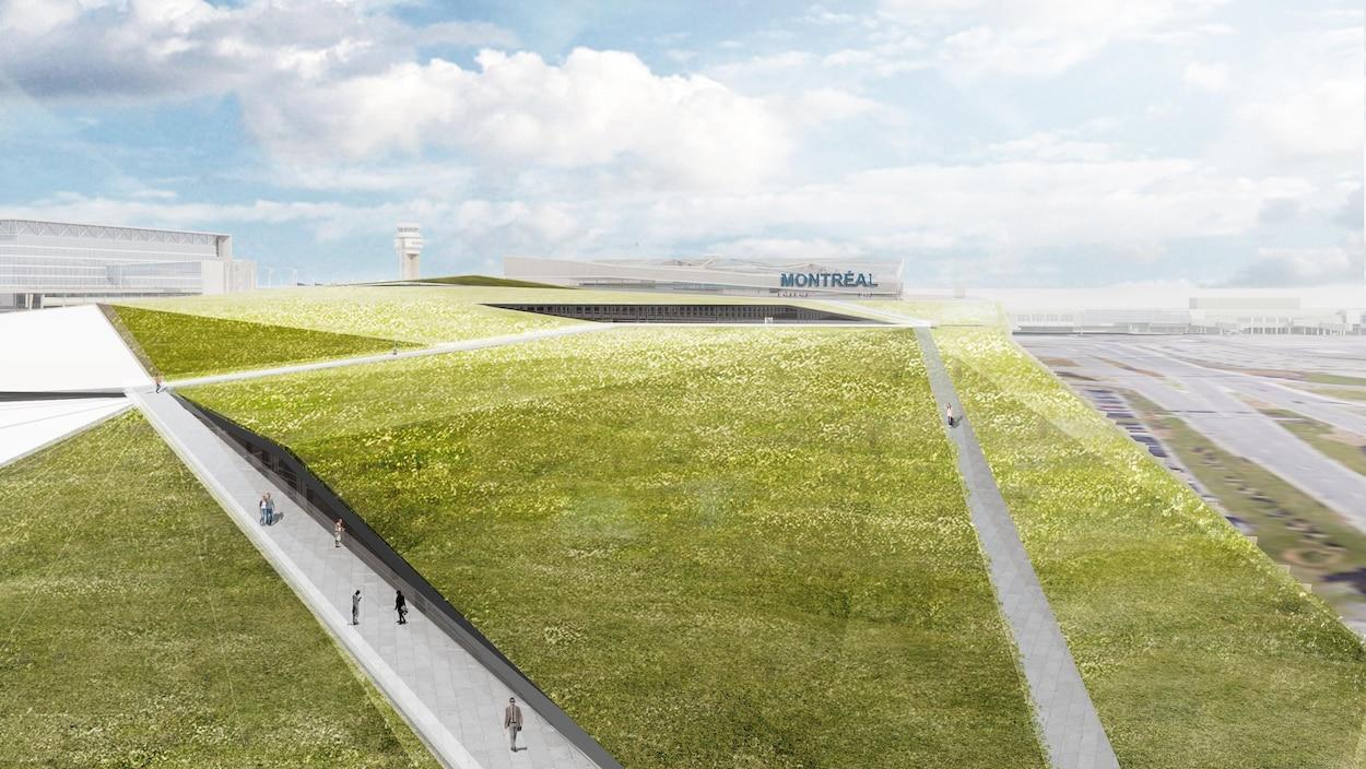 Un vaste chantier de 2,5 milliards à l'aéroport Montréal-Trudeau