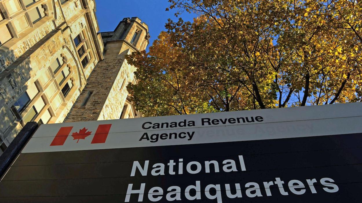 Le quartier général de l'Agence du revenu du Canada, à Ottawa.