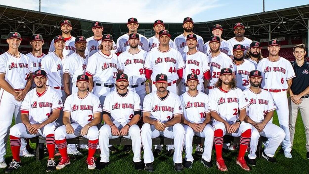 Photo d'équipe de baseball
