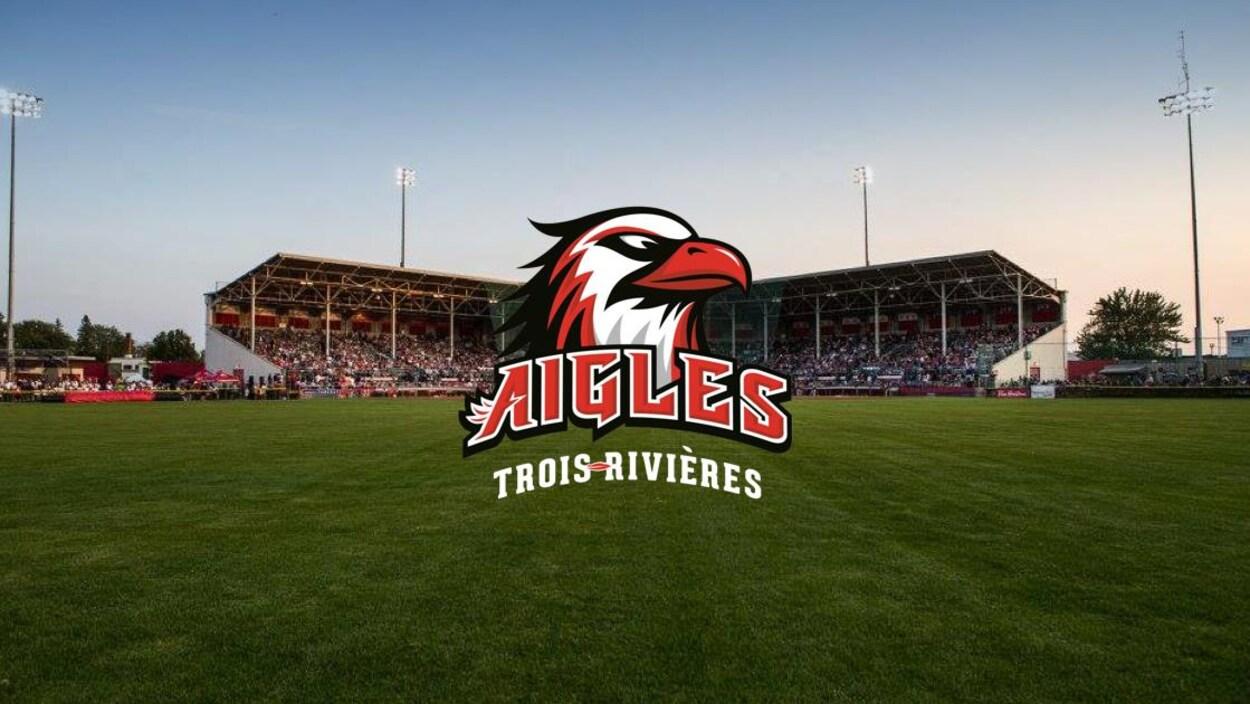 Le logo des Aigles de Trois-Rivières.