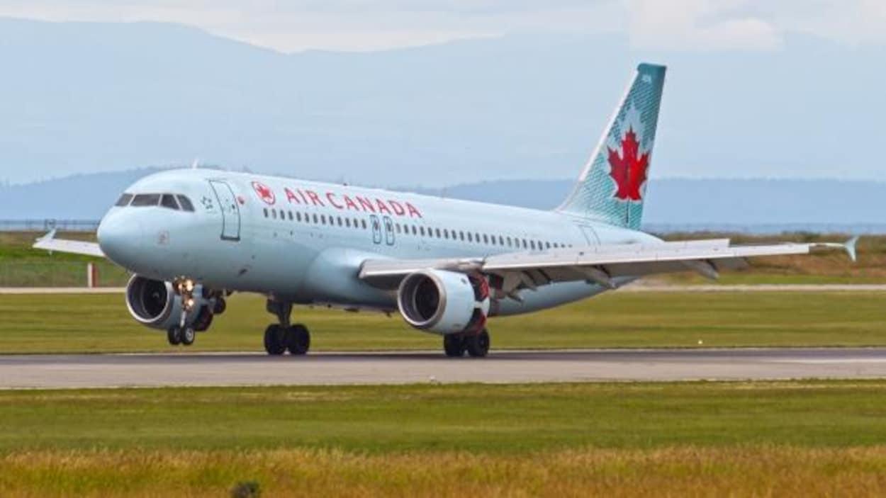 Un Airbus A320 d'Air Canada