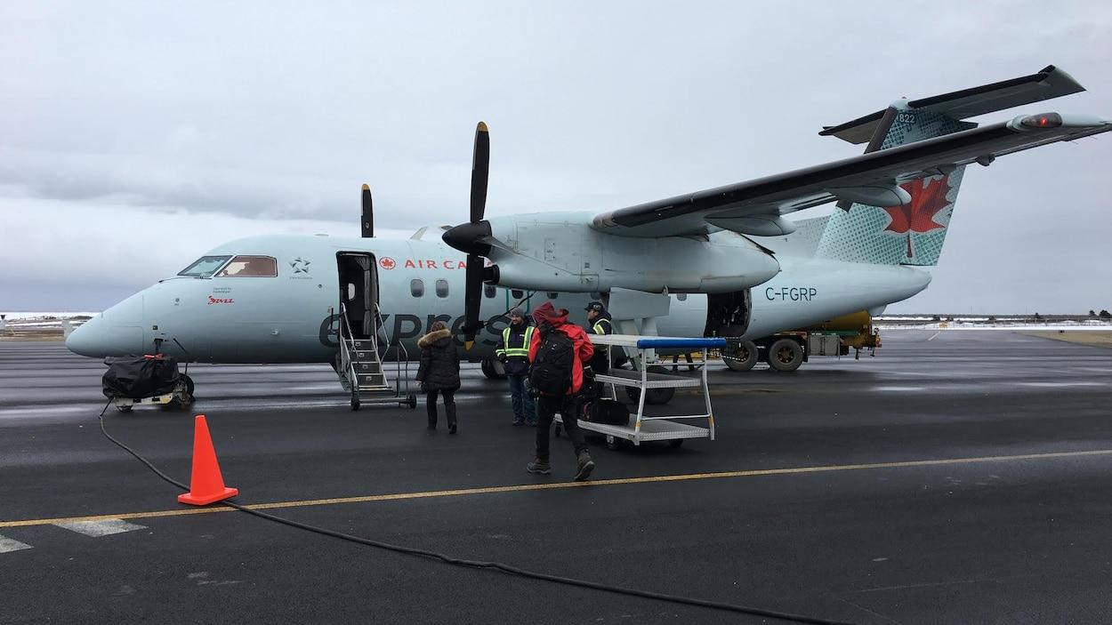 Un appareil d'Air Canada atterri aux îles de la Madeleine