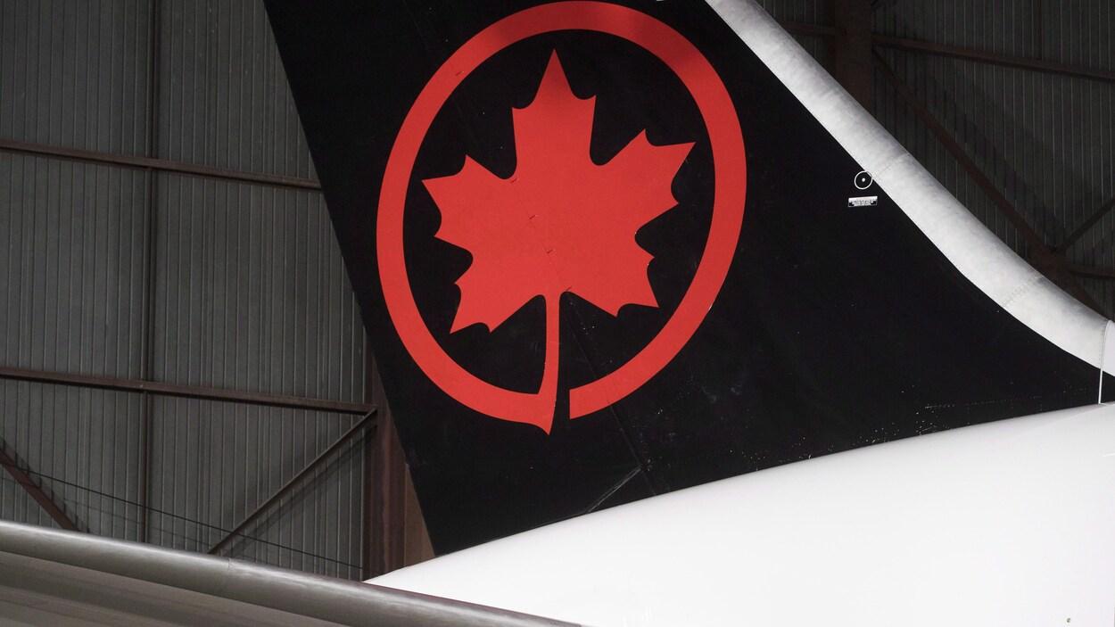 La nouvelle livrée d'Air Canada