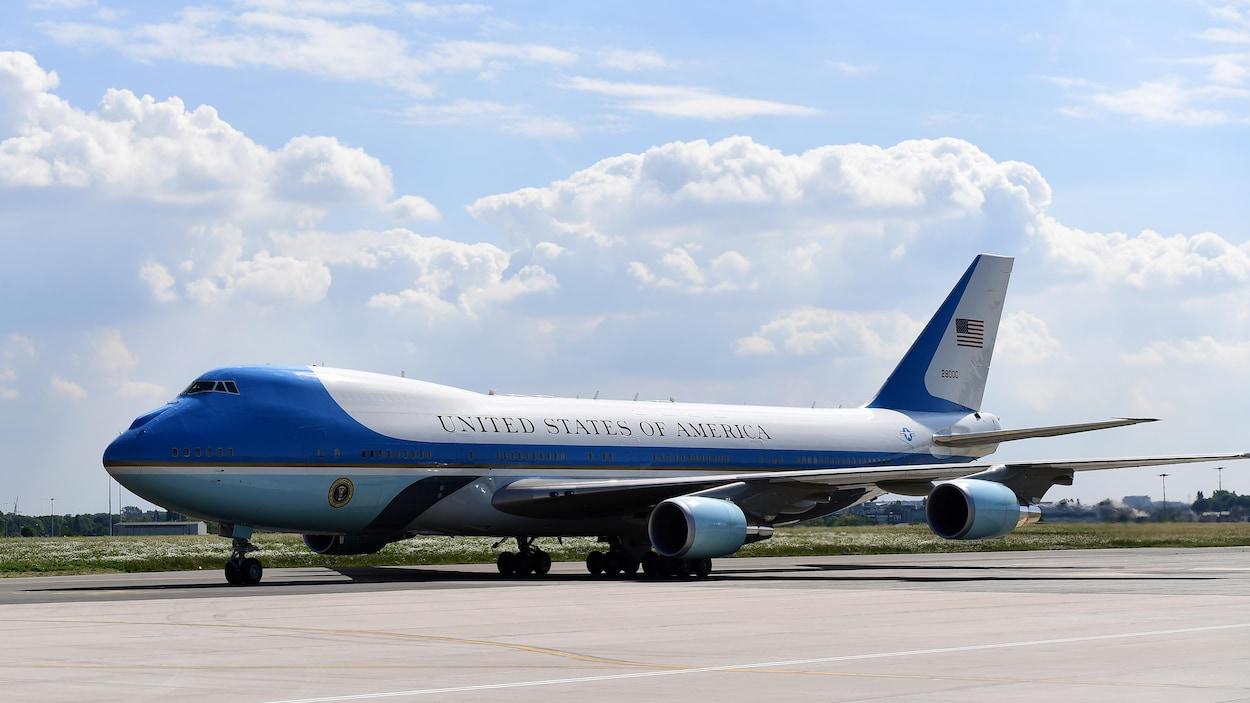 le dernier d6fa2 51970 Plus grand, plus coloré : le nouvel Air Force One sera ...