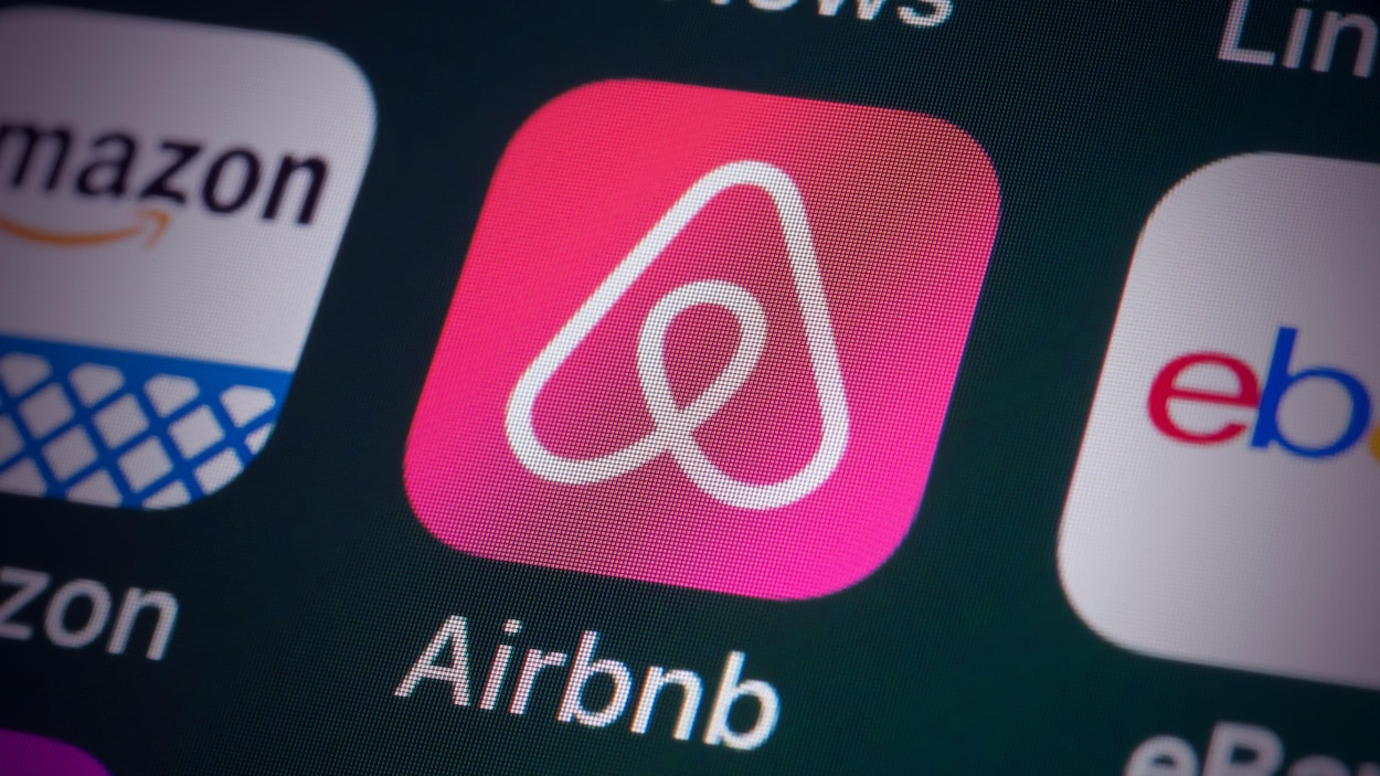 L'icône de l'application d'Airbnb.