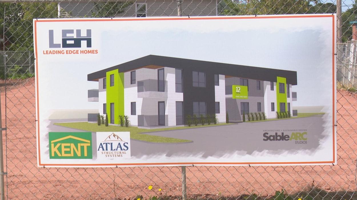 L'édifice comprendra 11 appartements de type bachelor. Il sera loué au mois entre septembre et juin, puis à la journée en juillet et en août.