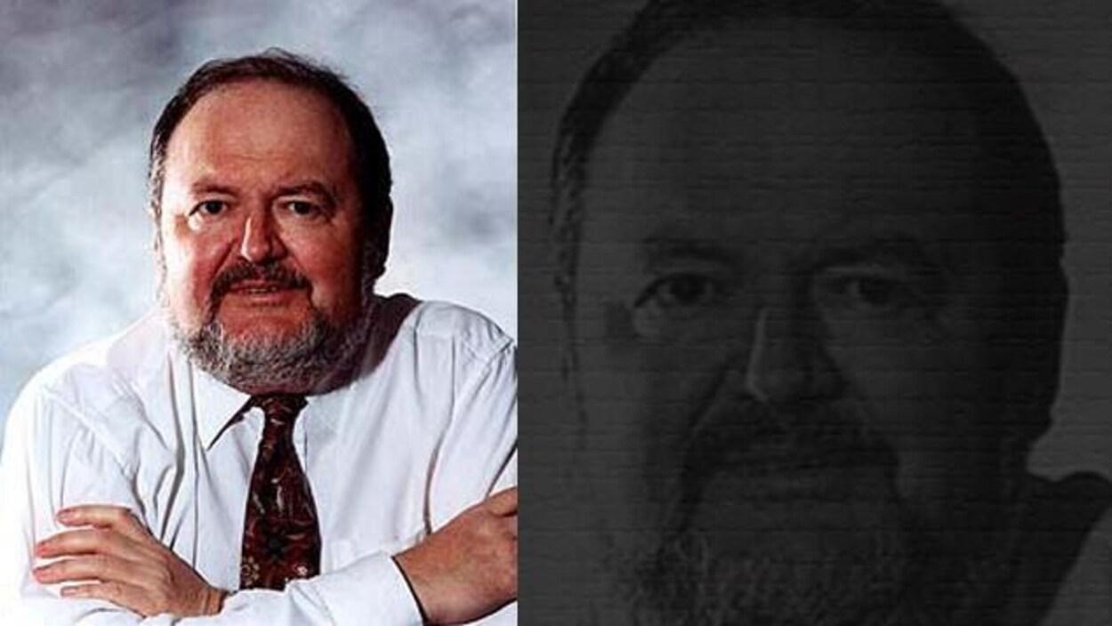 Portrait double de l'écrivain Alain Gagnon