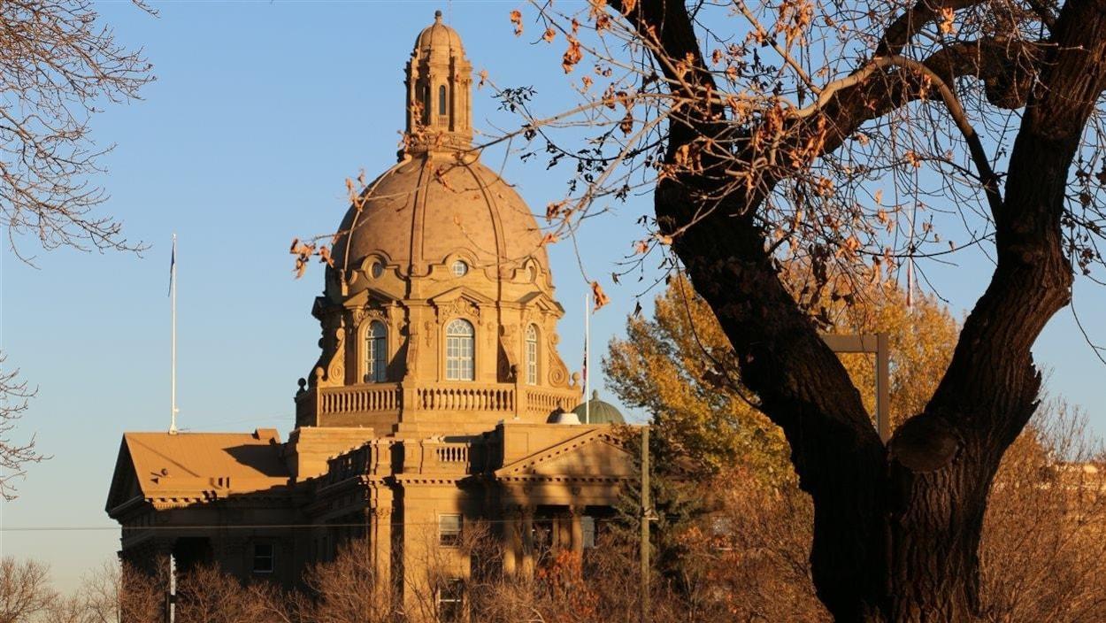 L'édifice de l'Assemblée législative de l'Alberta à Edmonton.