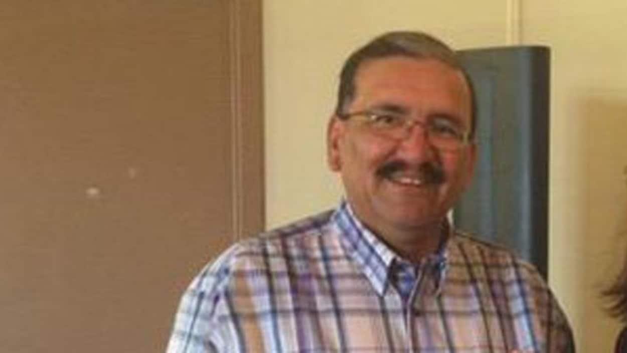 Le chef sortant de la Première Nation d'Alexander, Kurt Burnstick