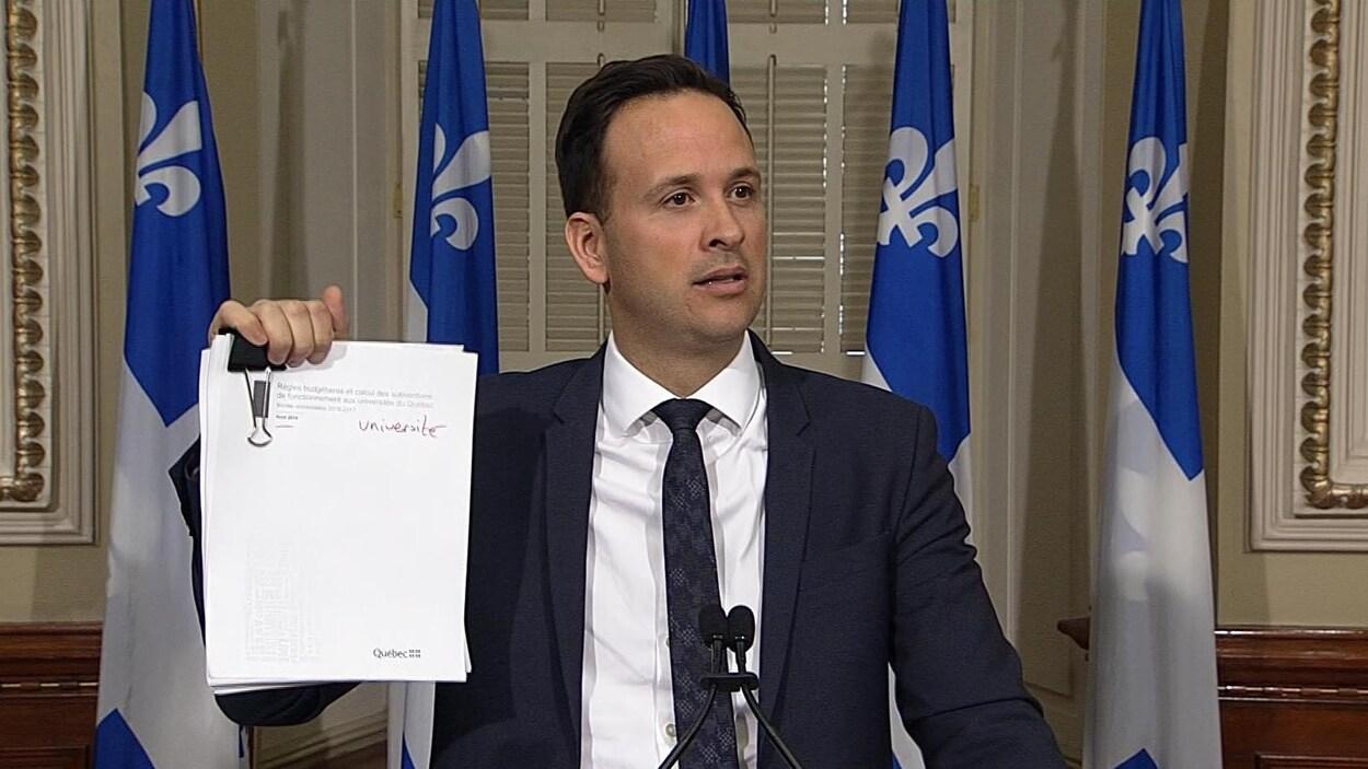 Le député de Lac-Saint-Jean Alexandre Cloutier