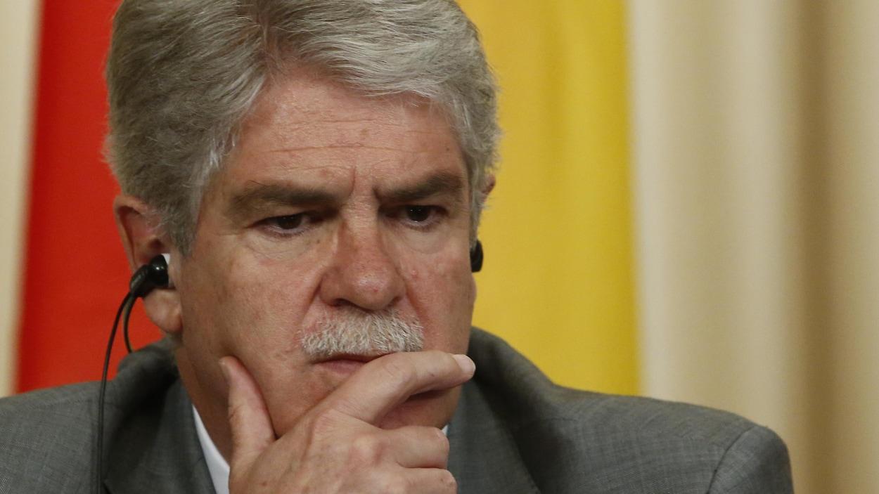 Le ministre des Affaires étrangères espagnol, Alfonso Dastis