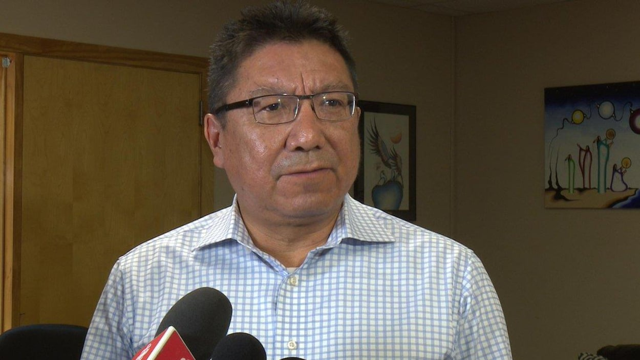 Alvin Fiddler est le grand chef de la Nation Nishnawbe Aski.