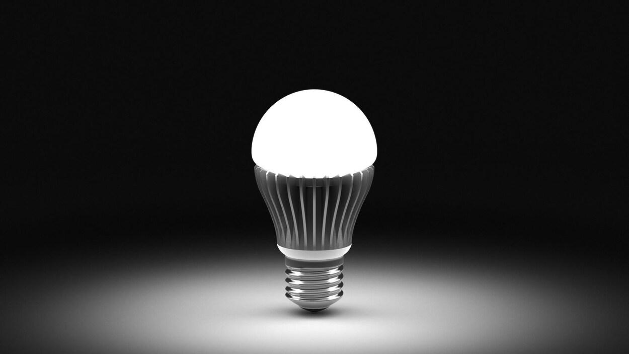 Une ampoule DEL