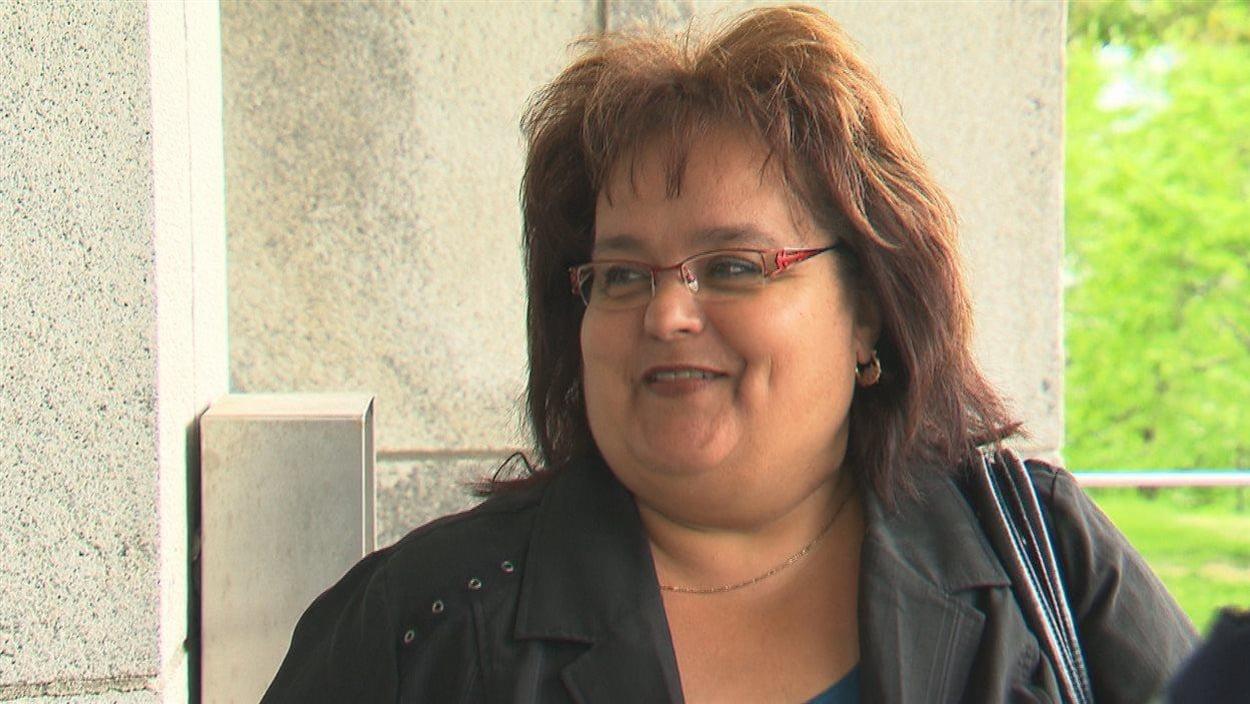 La directrice générale de la Municipalité de Saint-Guy, Andrée Ouellet.