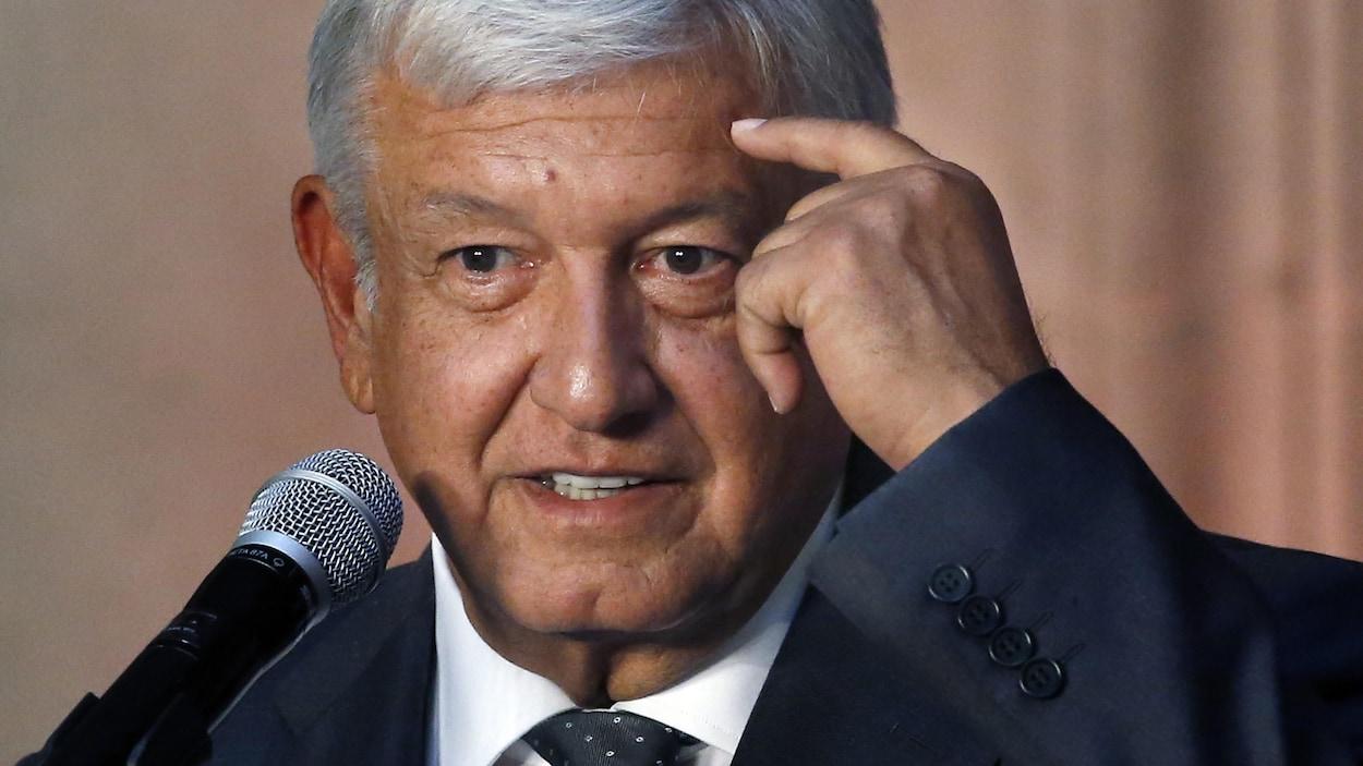 Andrés Manuel López Obrador, le président incorruptible du Mexique