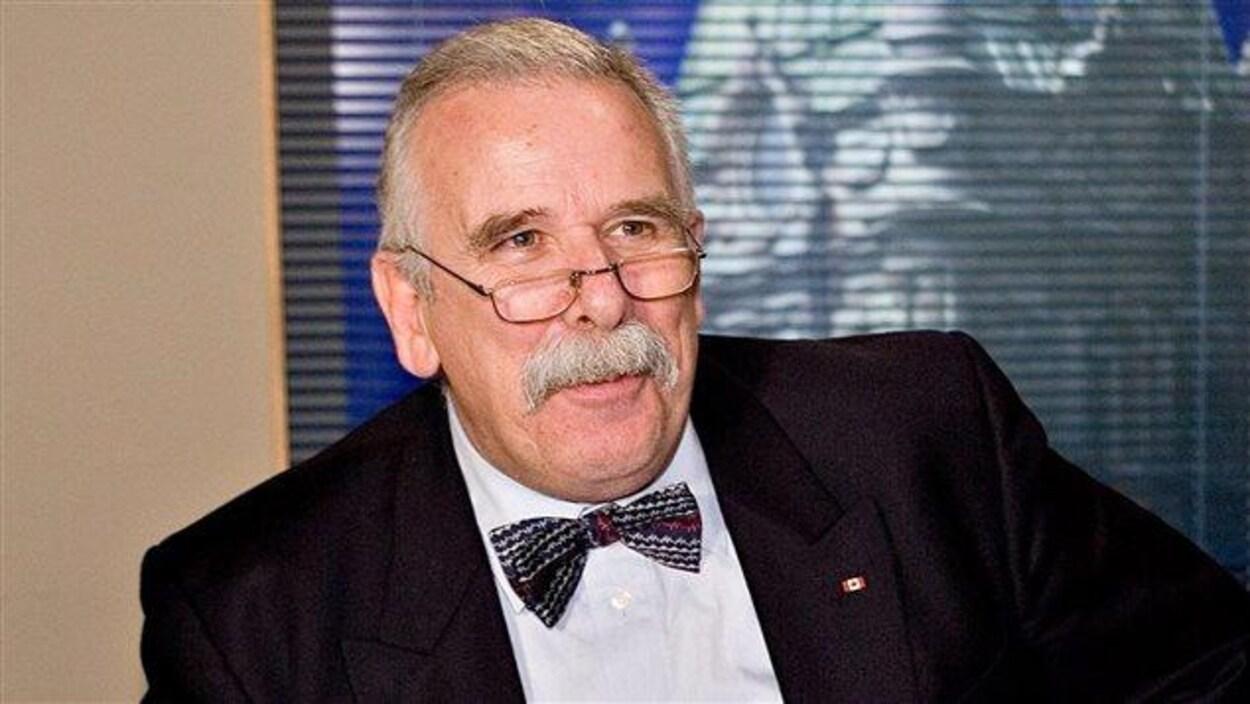 L'animateur André Arthur.