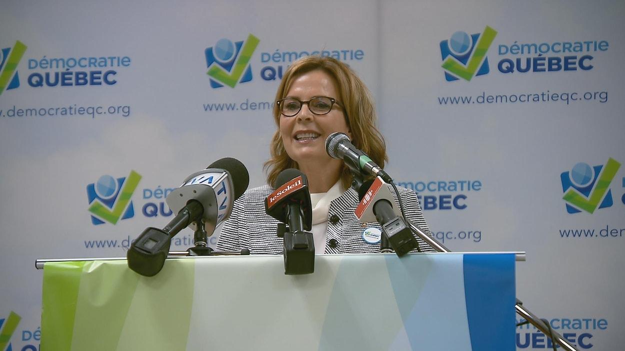 Anne Guérette est la nouvelle chef de Démocratie Québec