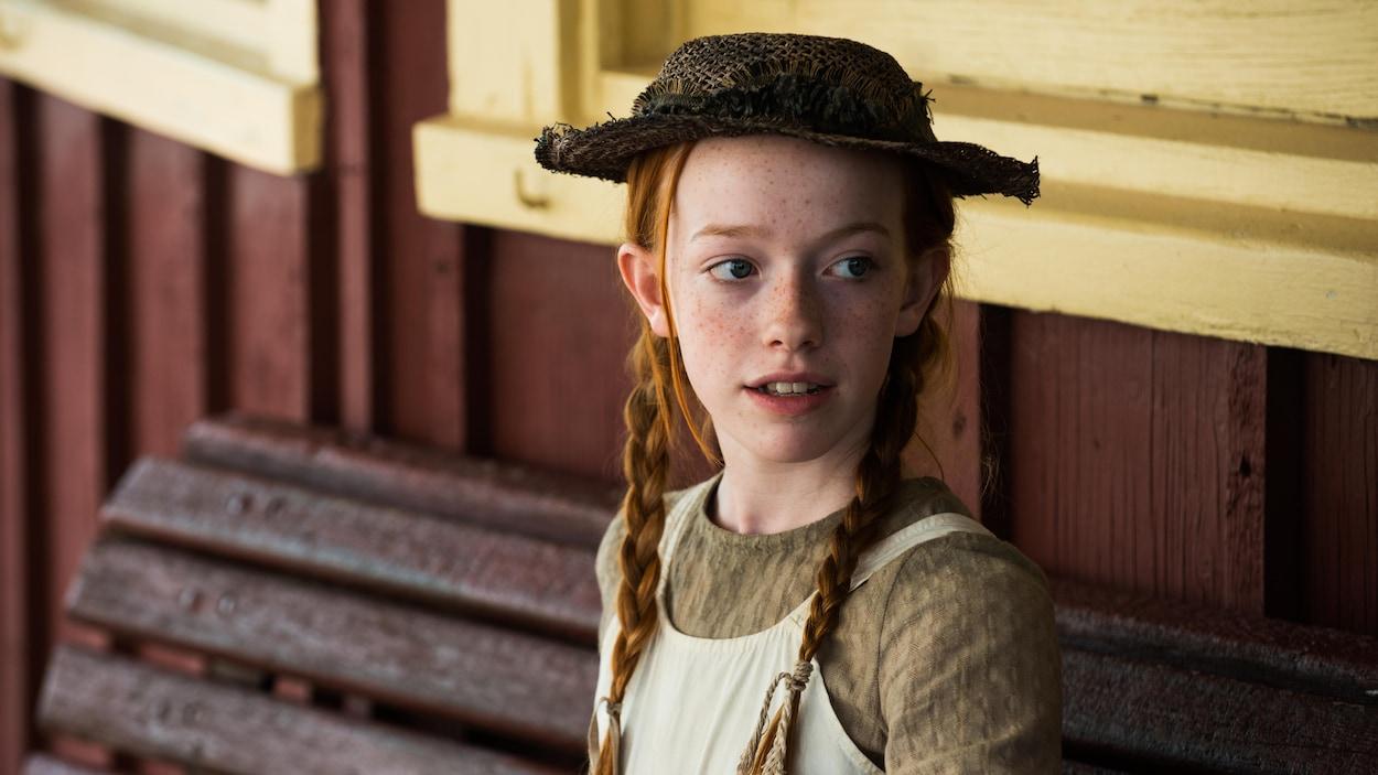 Photo de la jeune actrice