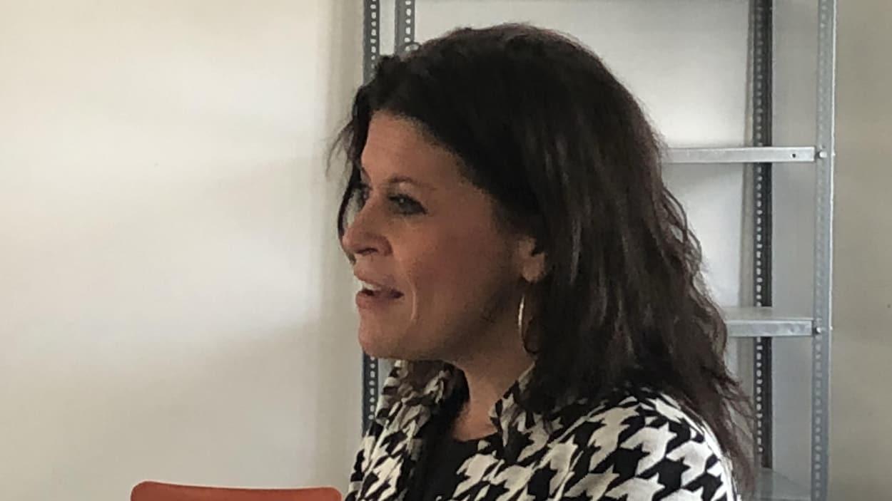 Annie Fournier, candidate du PLQ dans Matane-Matapédia