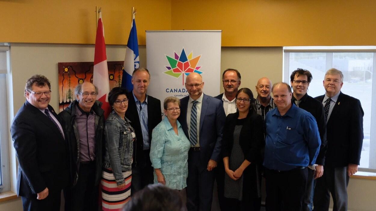 Le gouvernement fédéral a annoncé un total de 3 millions de dollars pour la réalisation de 25 projets communautaires en Abitibi-Témiscamingue.