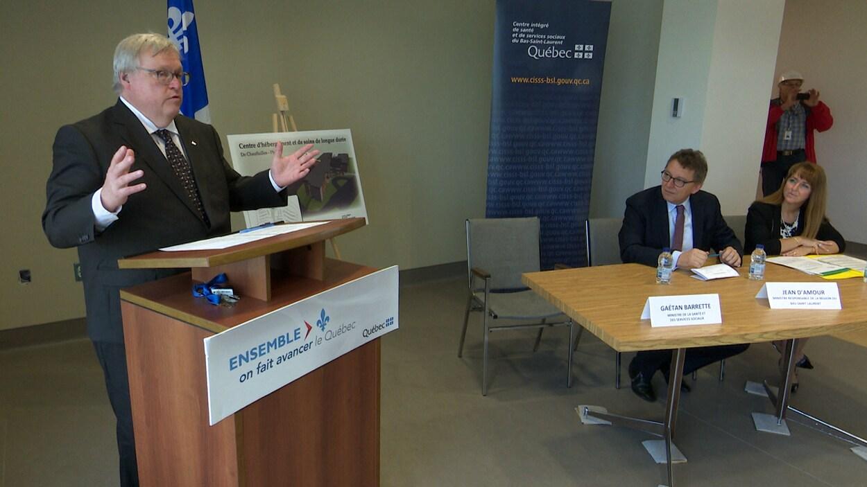 La Deuxieme Phase Du Chsld A Riviere Du Loup Aura Lieu Radio Canada Ca