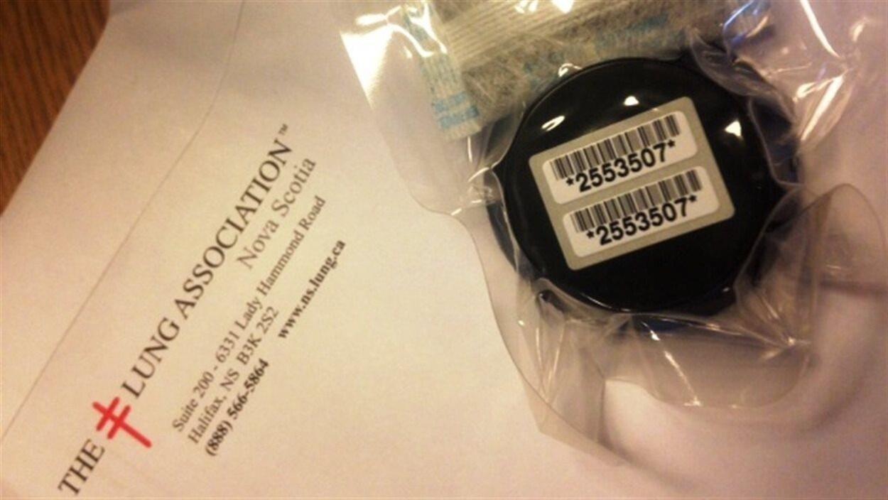 Un appareil pour mesurer les taux de radon