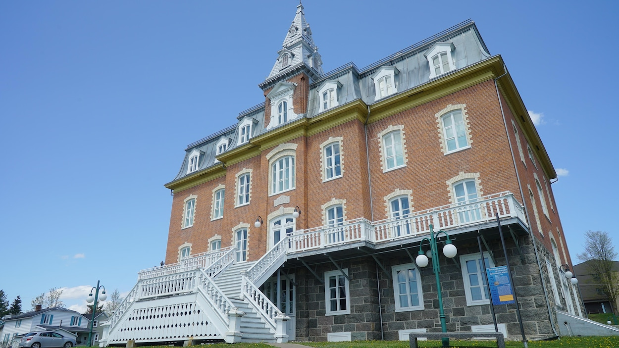 L'édifice de la Société du patrimoine des Beaucerons à Saint-Joseph-de-Beauce.