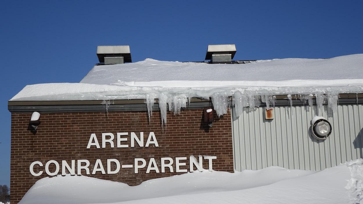 L'aréna Conrad-Parent à Sept-Îles