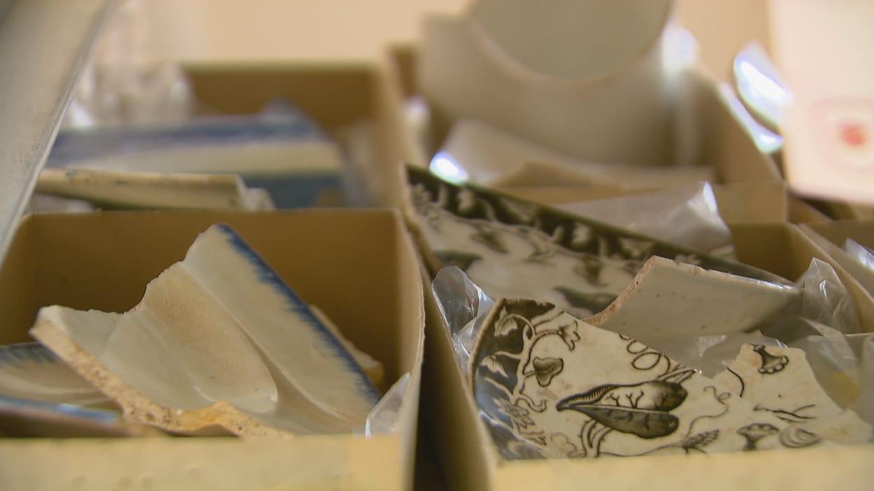 L'idée était de créer une réserve archéologique et des laboratoires pour réunir les collections d'artéfacts.