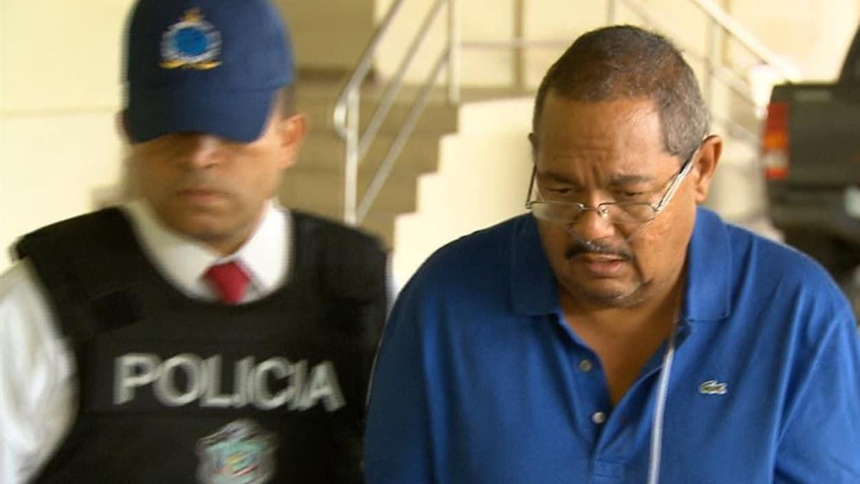 Arthur Porter lors de son arrestation au Panama en 2013