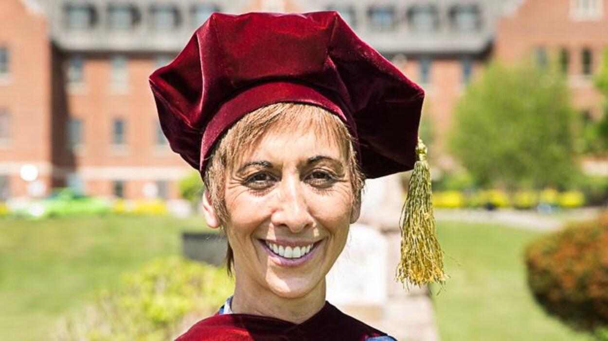 Asima Vezina, rectrice de l'Université Algoma à Sault-Sainte-Marie.