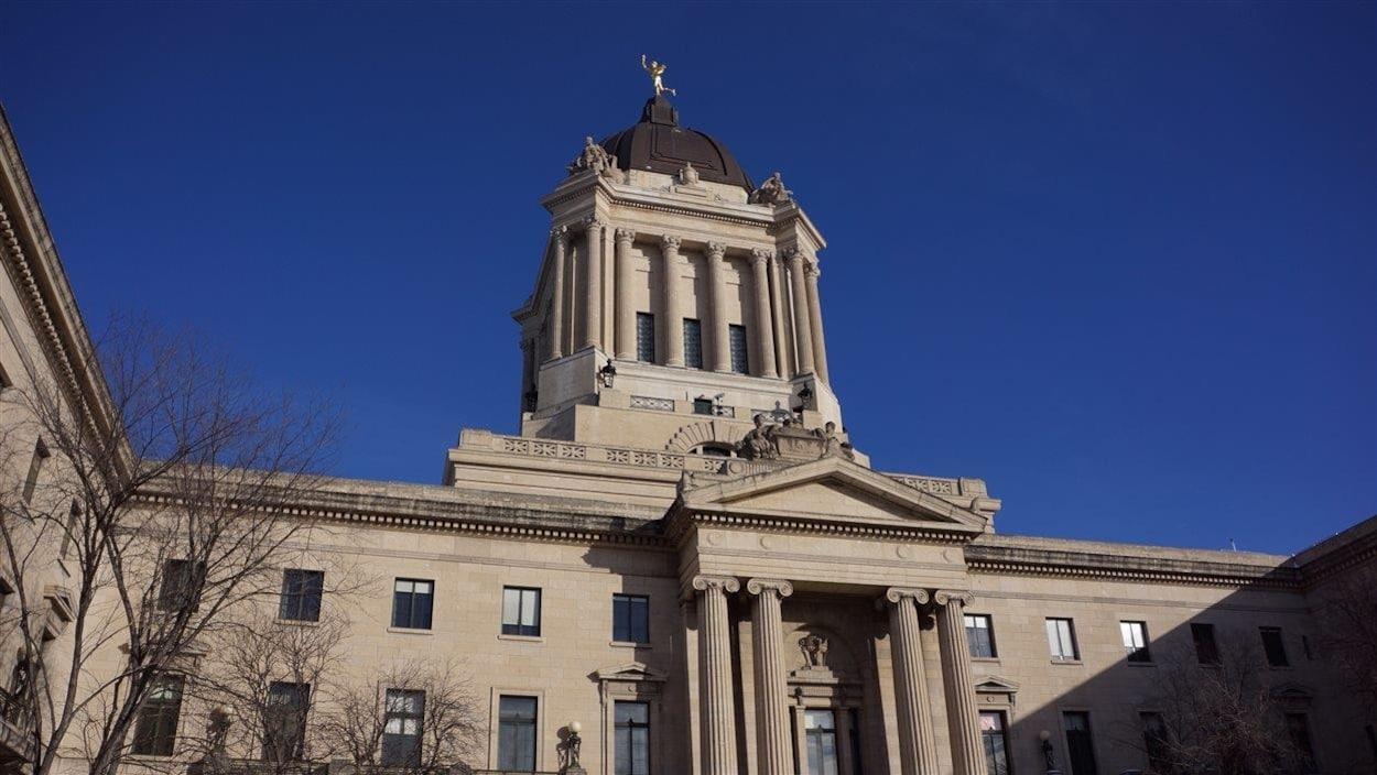 L'Assemblée législative du Manitoba.