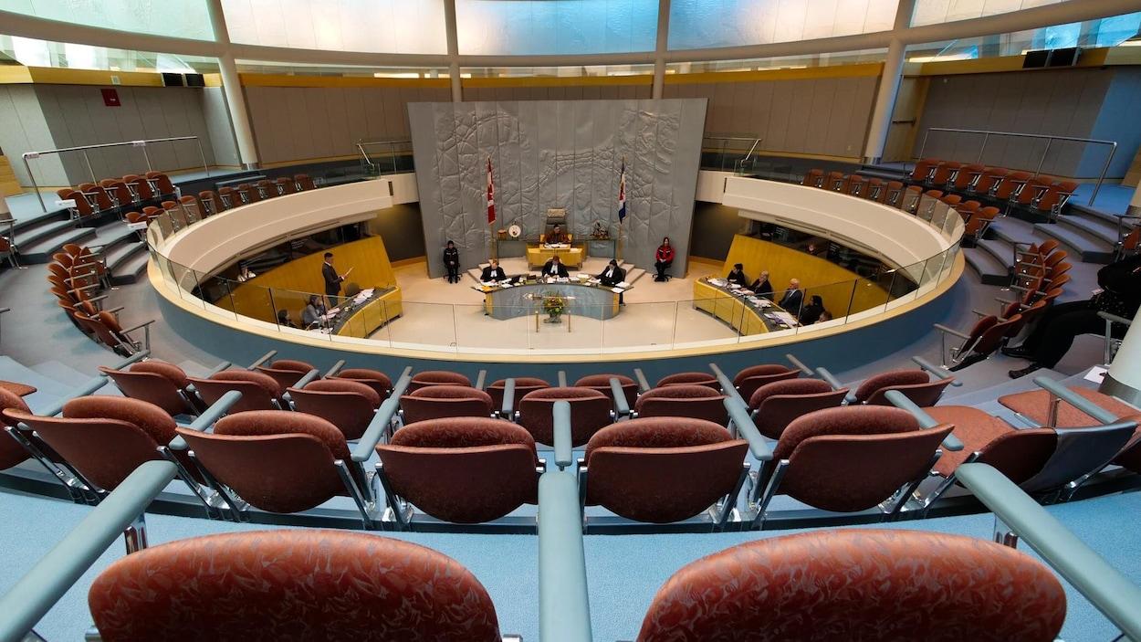 La Chambre de l'Assemblée législative des T.N.-O.