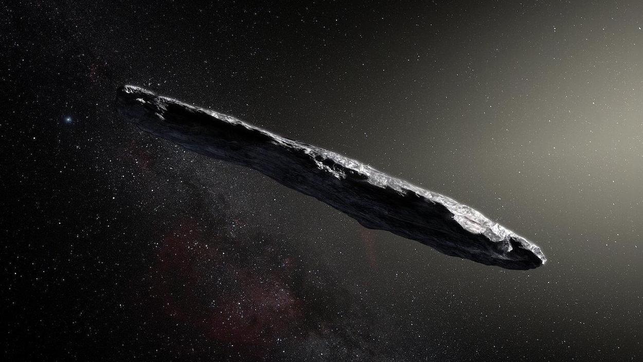 L'astéroïde en forme de cigare provient d'un autre système solaire