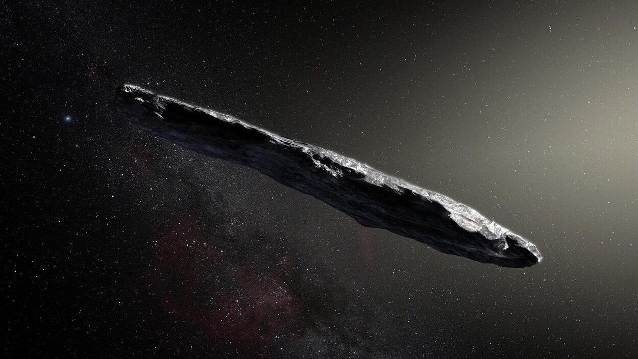 `Oumuamua : astéroïde interstellaire en forme de cigare