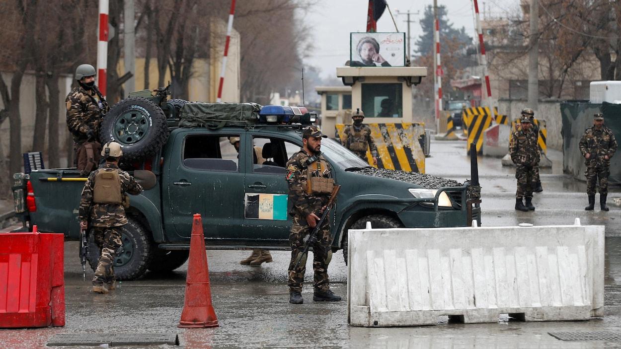 Au moins 18 soldats tués dans un attentat — Afghanistan