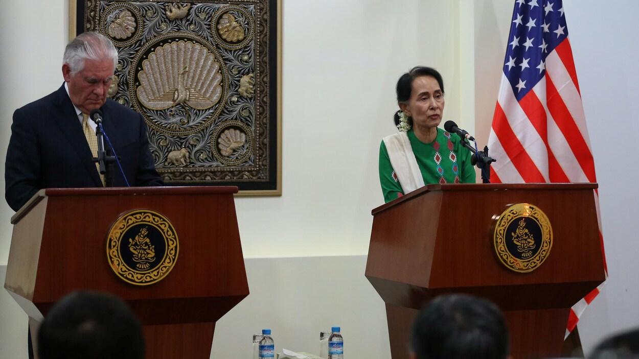 Aung San Suu Kyi nous fait honte — Bob Geldof