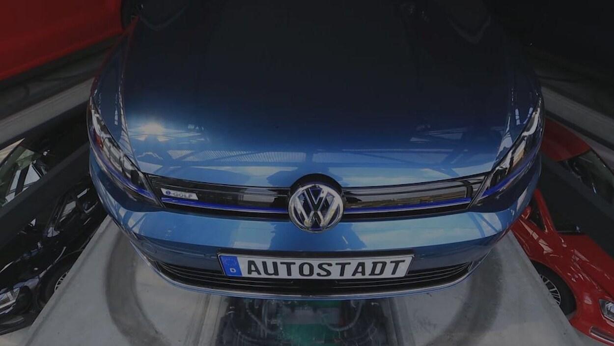 Une voiture Volkswagen.