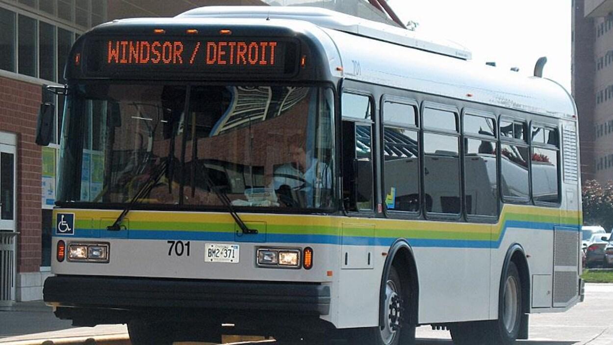 Un autobus de Transit Windsor