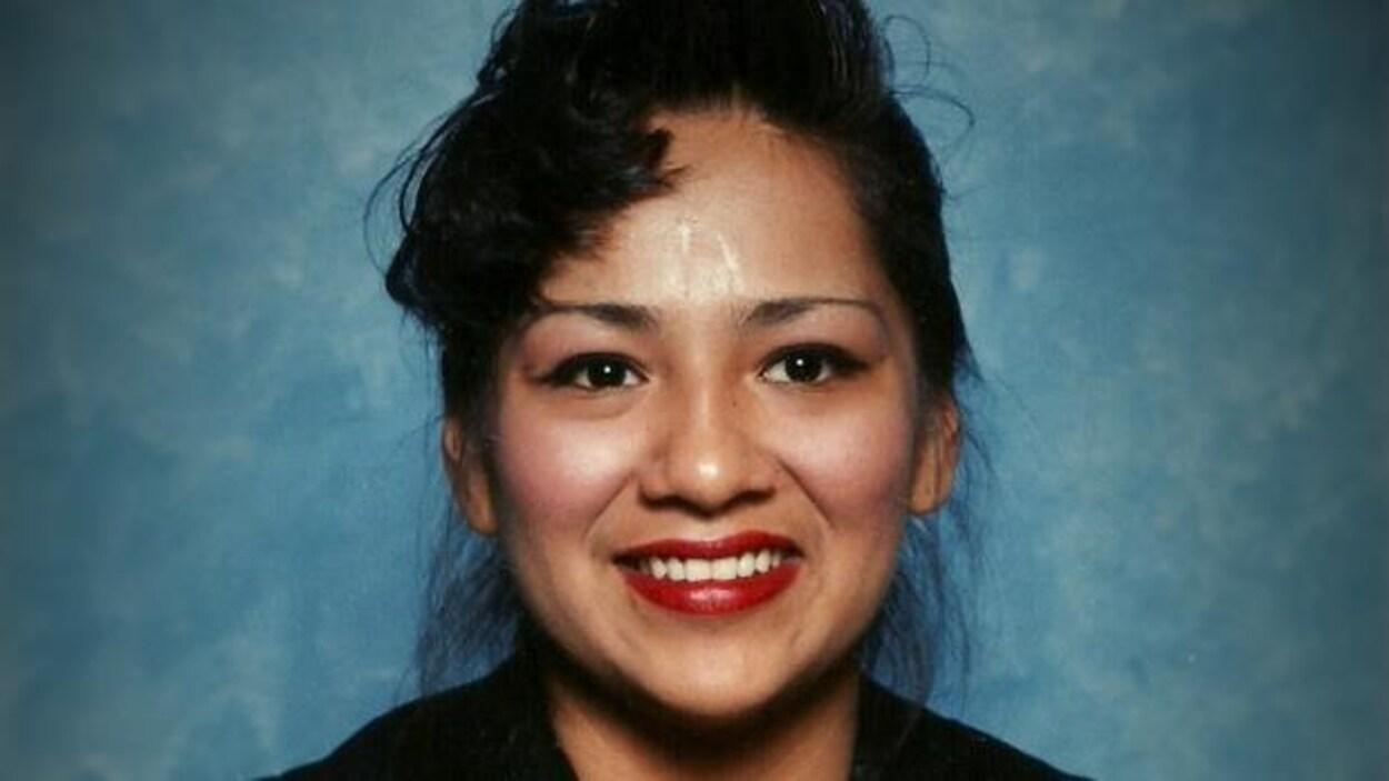 Kimberly Gloade, décédée deux mois après s'être présentée au CUSM sans pourtant y être soignée.