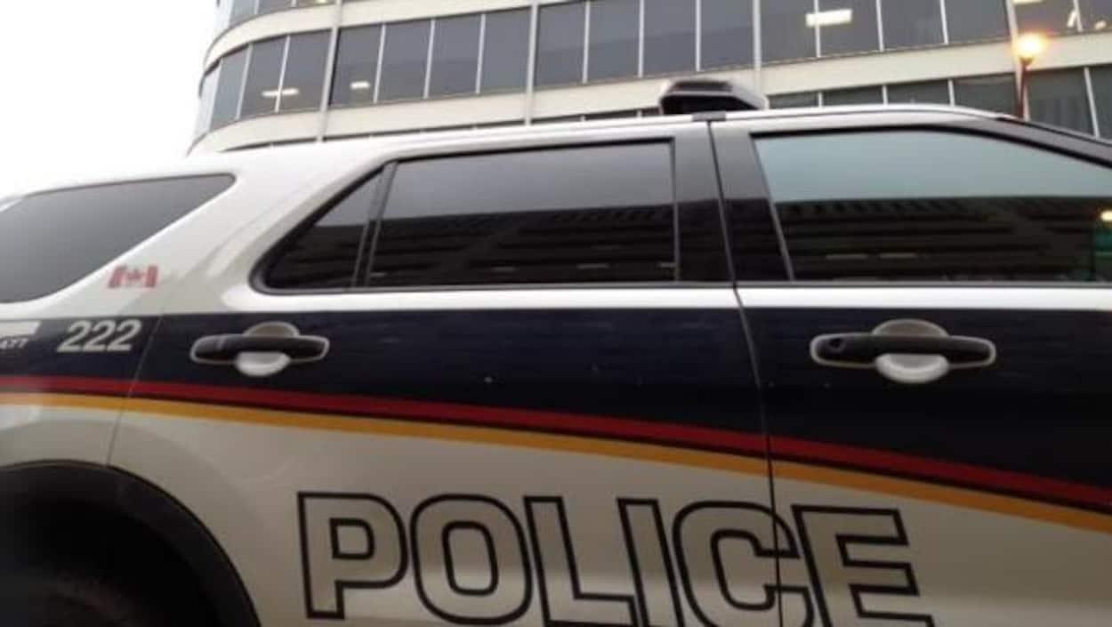 Une autopatrouille du Service de police de Saskatoon.