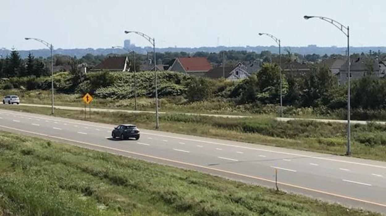 L'autoroute Henri-IV sera élargie entre autres dans le secteur de L'Ancienne-Lorette.