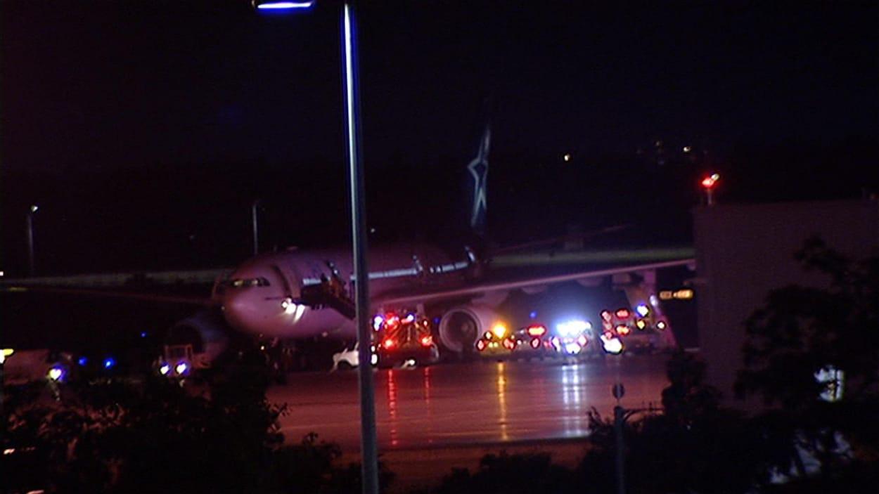 Air Transat blâmé pour l'incident du 31 juillet à Ottawa