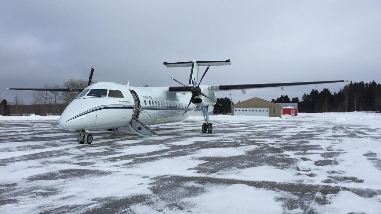 L'avion-ambulance du gouvernement du Québec