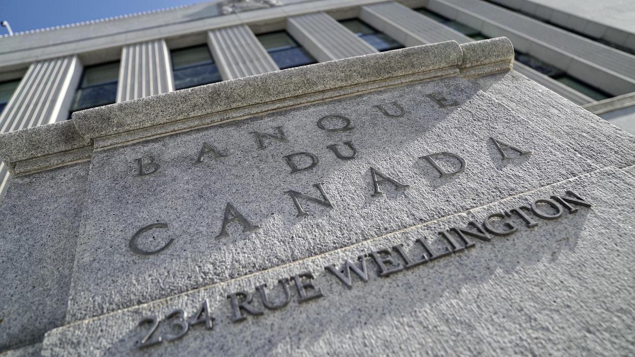 L'édifice de la Banque du Canada à Ottawa.
