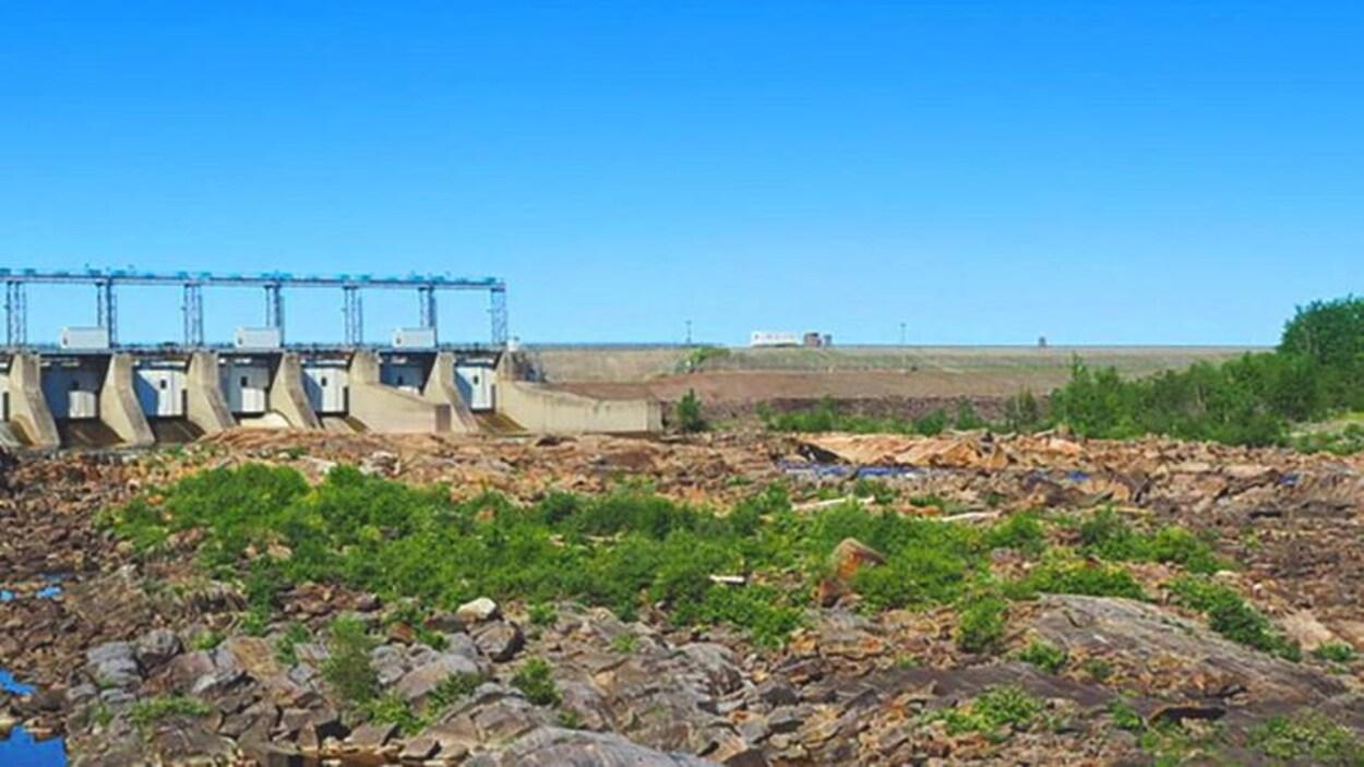 Un barrage hydroélectrique d'Ontario Power Generation.