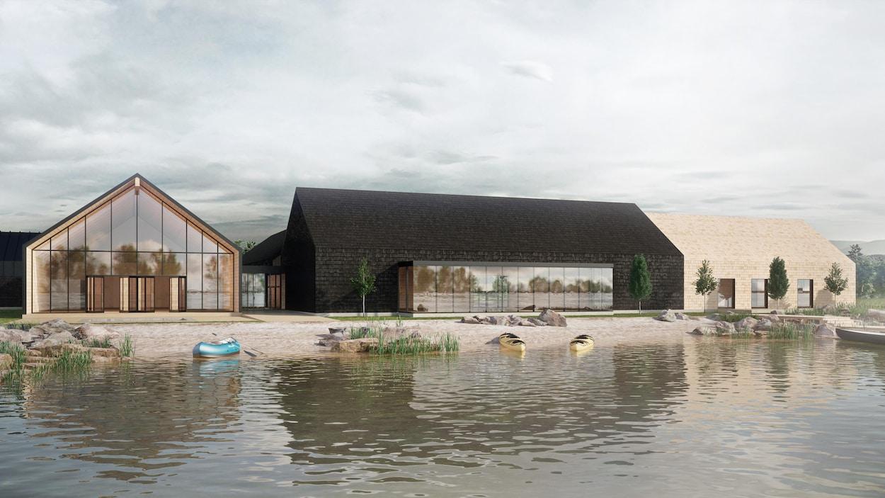 Le nouveau pavillon sera construit au coût de 9,4 millions de dollars.