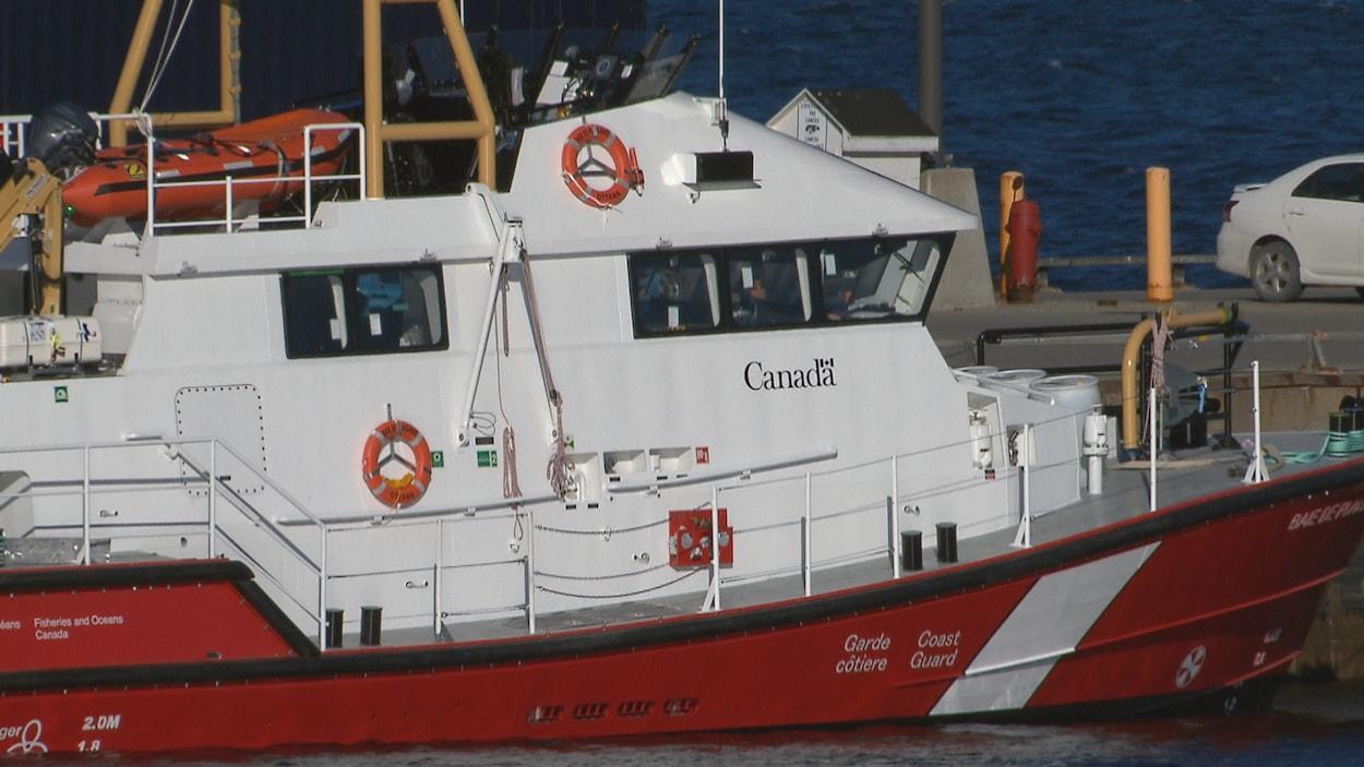 Le navire a été construit pour la Garde côtière canadienne.