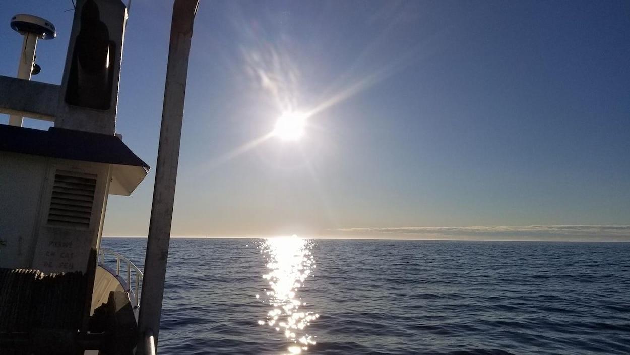 Voyage de pêche sur le golfe.